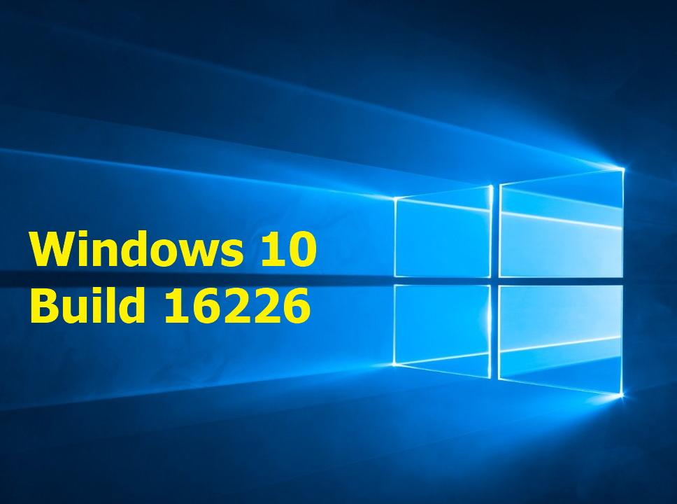 Windows 10Insider Build 16226 mit vielen Neuerungen
