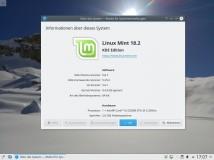 Von Serena zu Sonya: Linux Mint 18.1 auf 18.2 upgraden