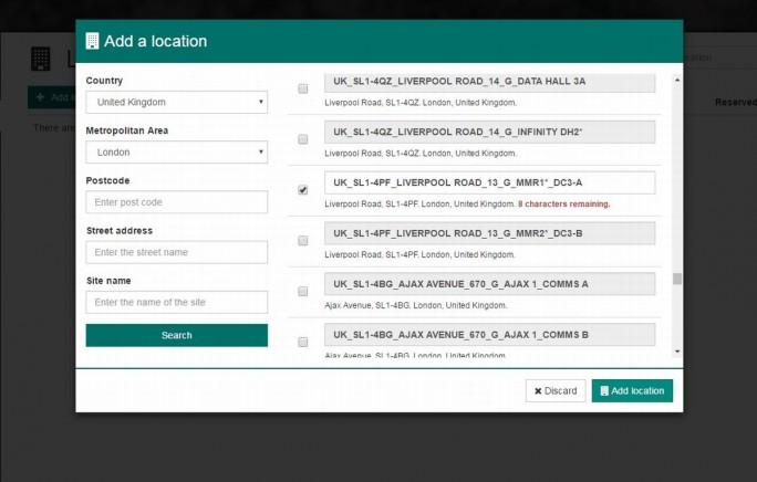 Mit On-Demand-Portalen können Kunden mit wenigen Klicks innerhalb von Minuten benötigte Netzwerkverbindungen bereitstellen. Früher dauerte das mehrere Wochen oder sogar noch länger. Im Übersichtsfenster sehen Nutzer ihre Verbindungen auf einer Karte, die Zahl ihrer Ports, ihre Verbindungen und die ausgewählte Bandbreite. Das Portal erleichtert den Kunden die Arbeit und gibt ihnen erstmals die Kontrolle über ihr Netzwerk. (Screenshot: Colt Technology Services)