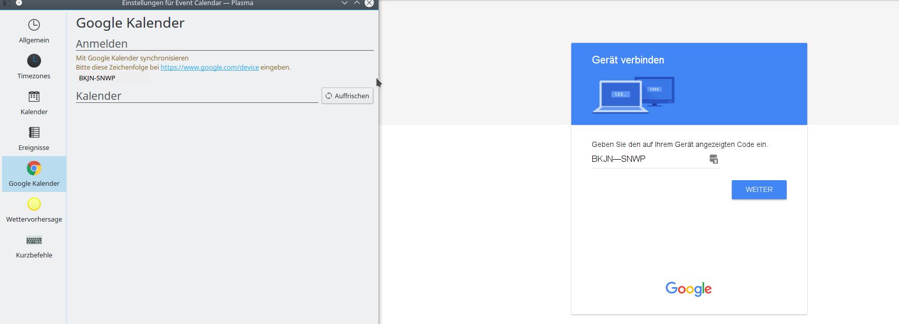 google kalender auf desktop anzeigen