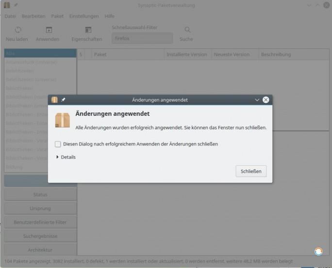 Jetzt ist Firefox 55 Beta installiert (Screenshot: ZDNet.de)