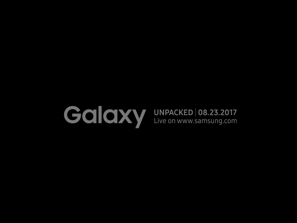 Galaxy Note 8: Samsung bestätigt Präsentation am 23. August
