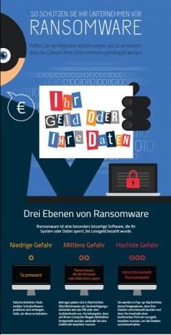 Ransomware: So schützen sich Unternehmen (Infografik: Malwarebytes)