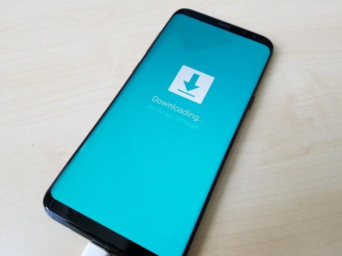 Samsung Galaxy S8+ Update (Bild: ZDNet.de)