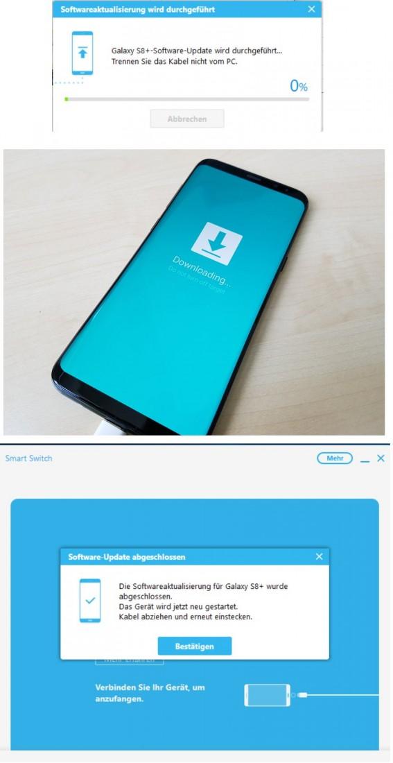 تحديثات سامسونغ سمارت سويتش - Samsung Smart Switch Update
