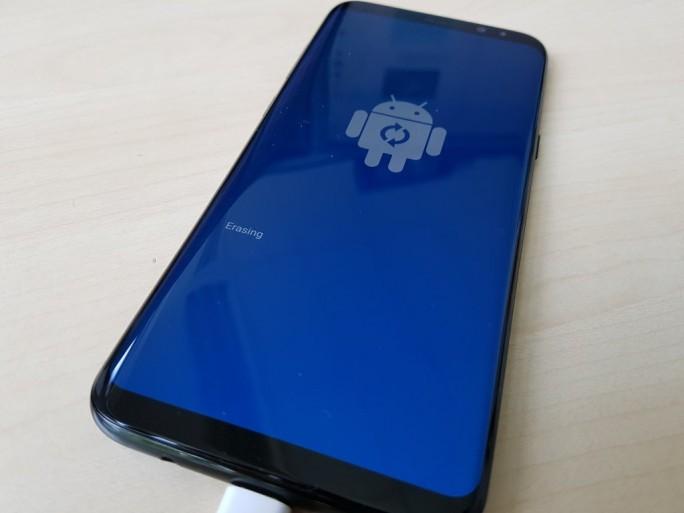Update Galaxy S8+ mit Smart Switch: Installation final (Bild: ZDNet.de)