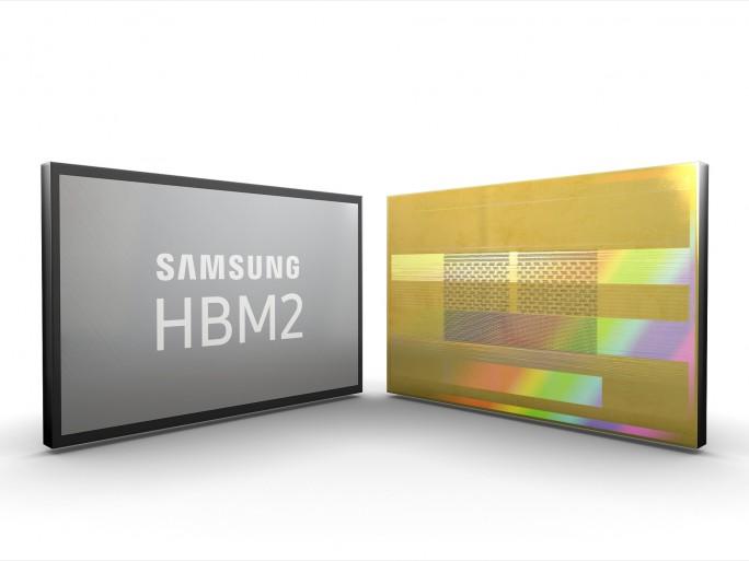 HBM2-RAM von Samsung (Bild: Samsung)