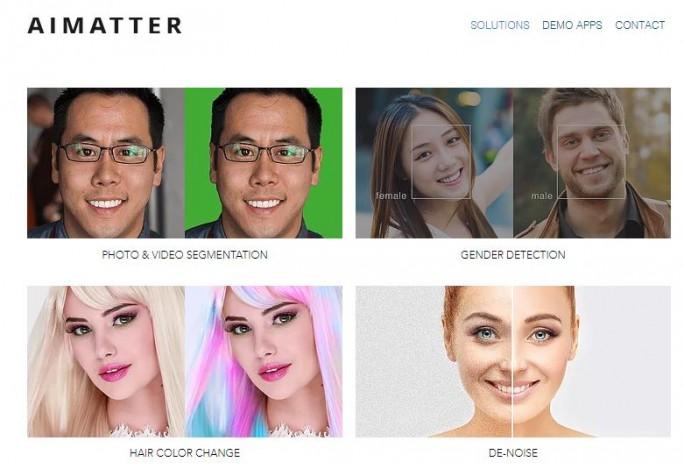 AIMatter bietet mobile Foto-Bearbeitungs-Apps auf Basis künstlicher Intelligenz. Für Google dürfte wohl die zugrundeliegende Technologie und die Mitarbeiter des Unternehmens interessant sein. (Bild: AIMatter)