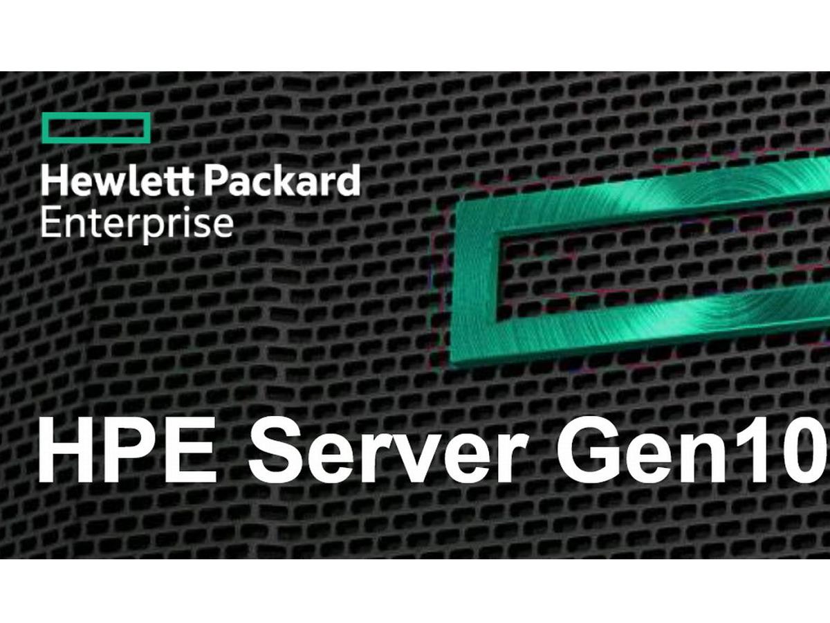 HPE-Server Gen10: OneView 3.1 und Firmware-Schutz durch ...