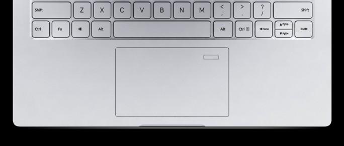 Mi Notebook Air 13 2017: Fingerabdrucksensor im Touchpad (Bild: Xiaomi)