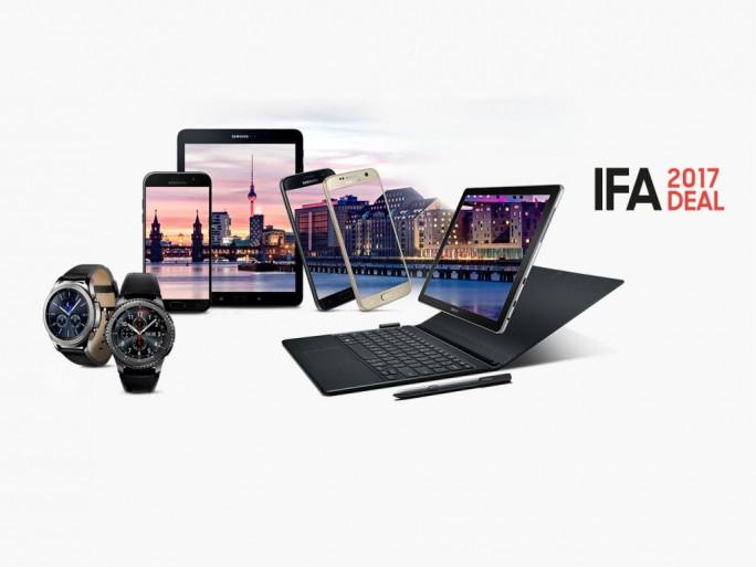 Samsung: Zur IFA gibt es viele Produkte günstiger (Bild: Samsung)