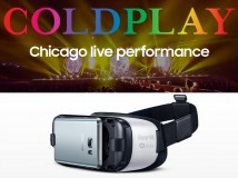 Samsung GearVR: Konzert von Coldplay in virtueller Realität erleben