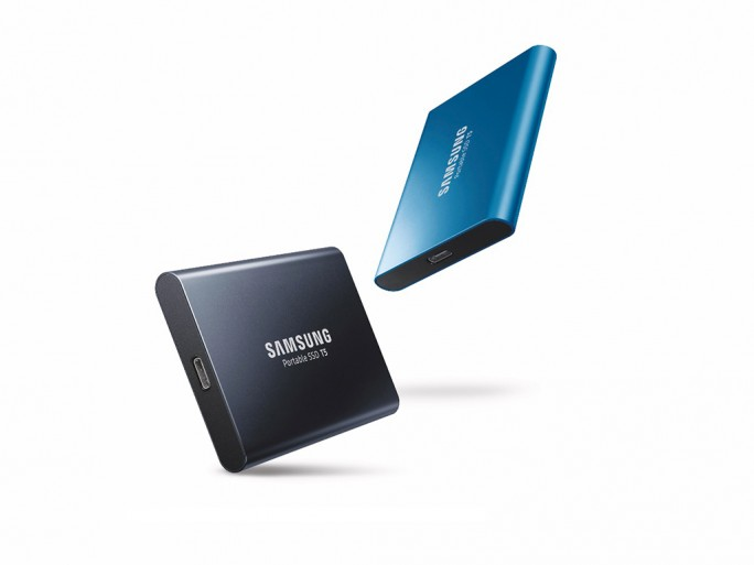 Samsung Portable SSD T5 (Bild: Samsung)