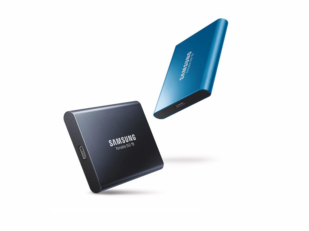 Samsung lanciert portable SSD T5