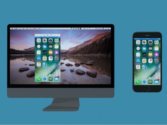 Teamviewer mit iOS-Screen-Sharing (Bild: Teamviewer)
