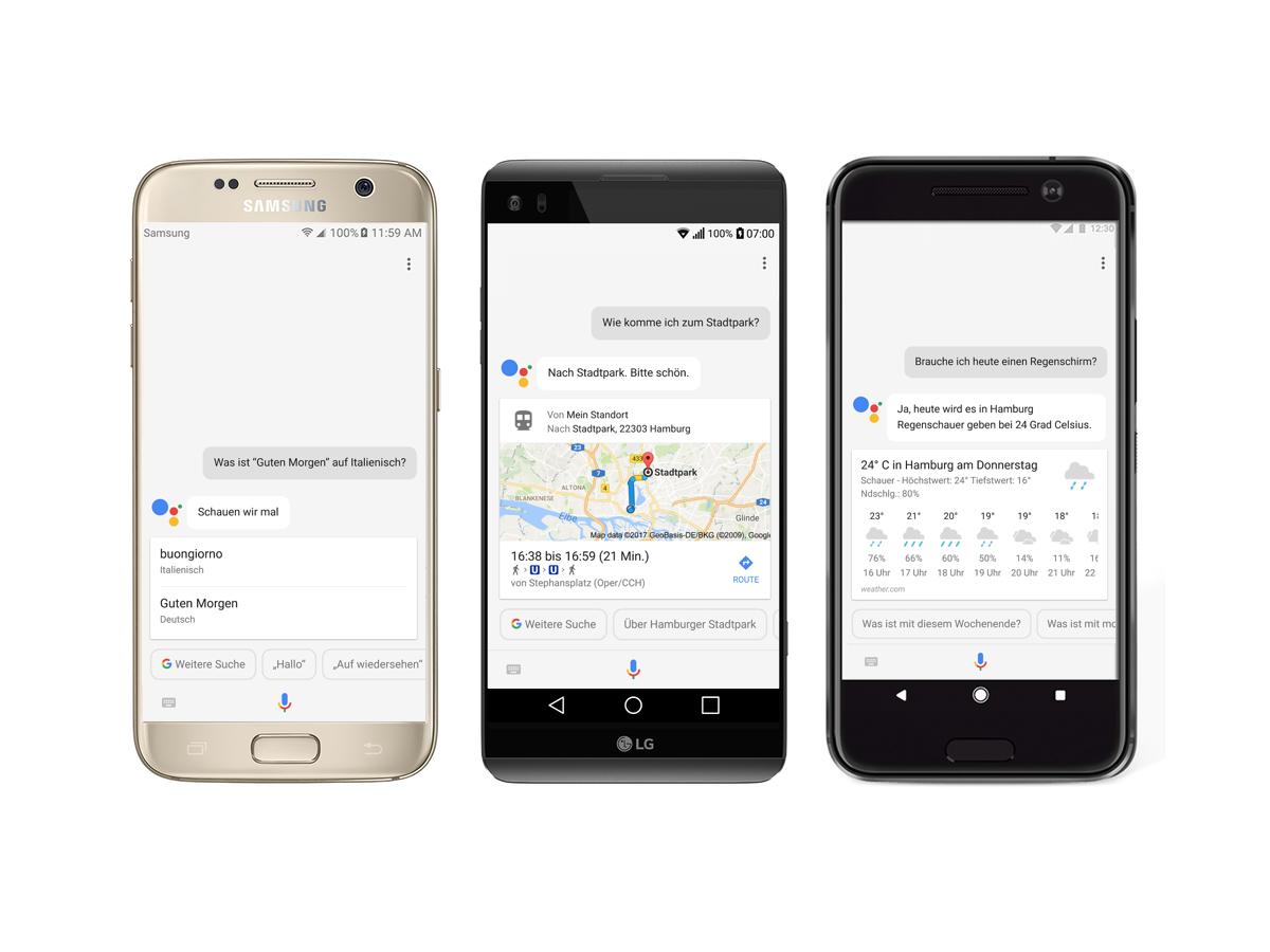 Google Assistant auch in Deutschland für zusätzliche Smartphones verfügbar