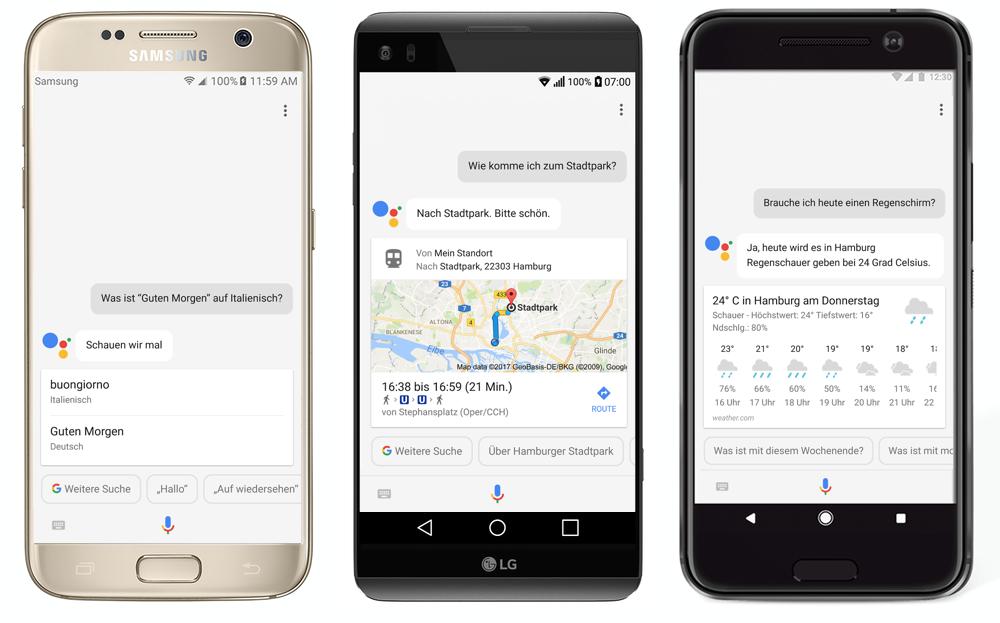 Google Assistant Auch In Deutschland Für Zusätzliche Smartphones