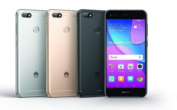 Huawei Y6 Pro 2017 (Bild: Huawei)
