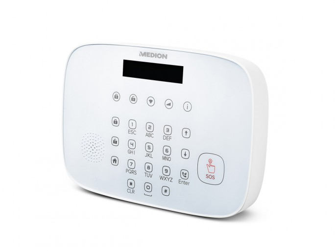 Medion P85770 Alarmsystem Zentrale (Bild: Medion)