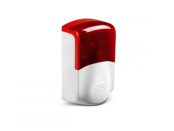 Medion P85770 Alarmsystem Aussensirene (Bild: Medion)