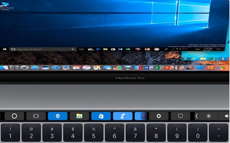 Parallels Desktop 13 für Mac erlaubt Nutzung der Touch Bar durch Windows