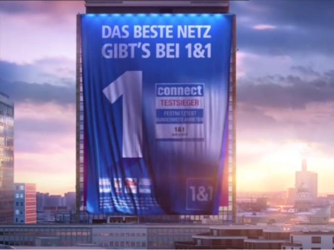 """1&1: Laut Gericht ist die Werbung mit der Aussage """"Das beste Netz"""" irreführend (Screenshot: ZDNet.de)."""