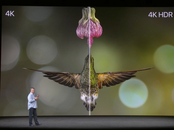 Apple TV 4K: HDR 10 und Dolby Vision (Screenshot: ZDNet.de)