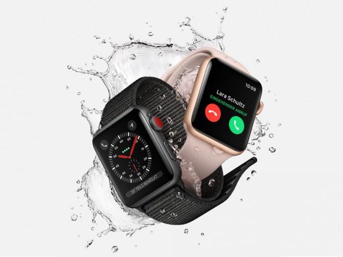 Apple Watch Series 3 mit LTE-Unterstützung (Bild: Apple)