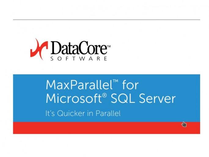 DataCore MaxParallel for SQL Server (Bild: DataCore)