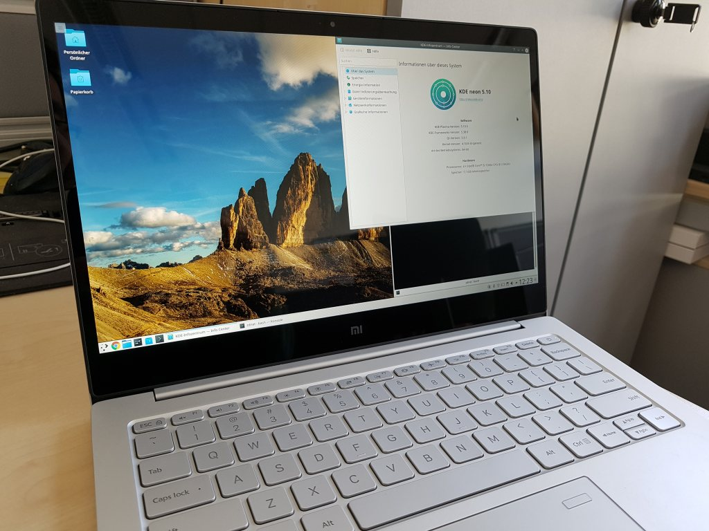 Xiaomi Mi Notebook Air 13.3 (2017) im Test | ZDNet.de