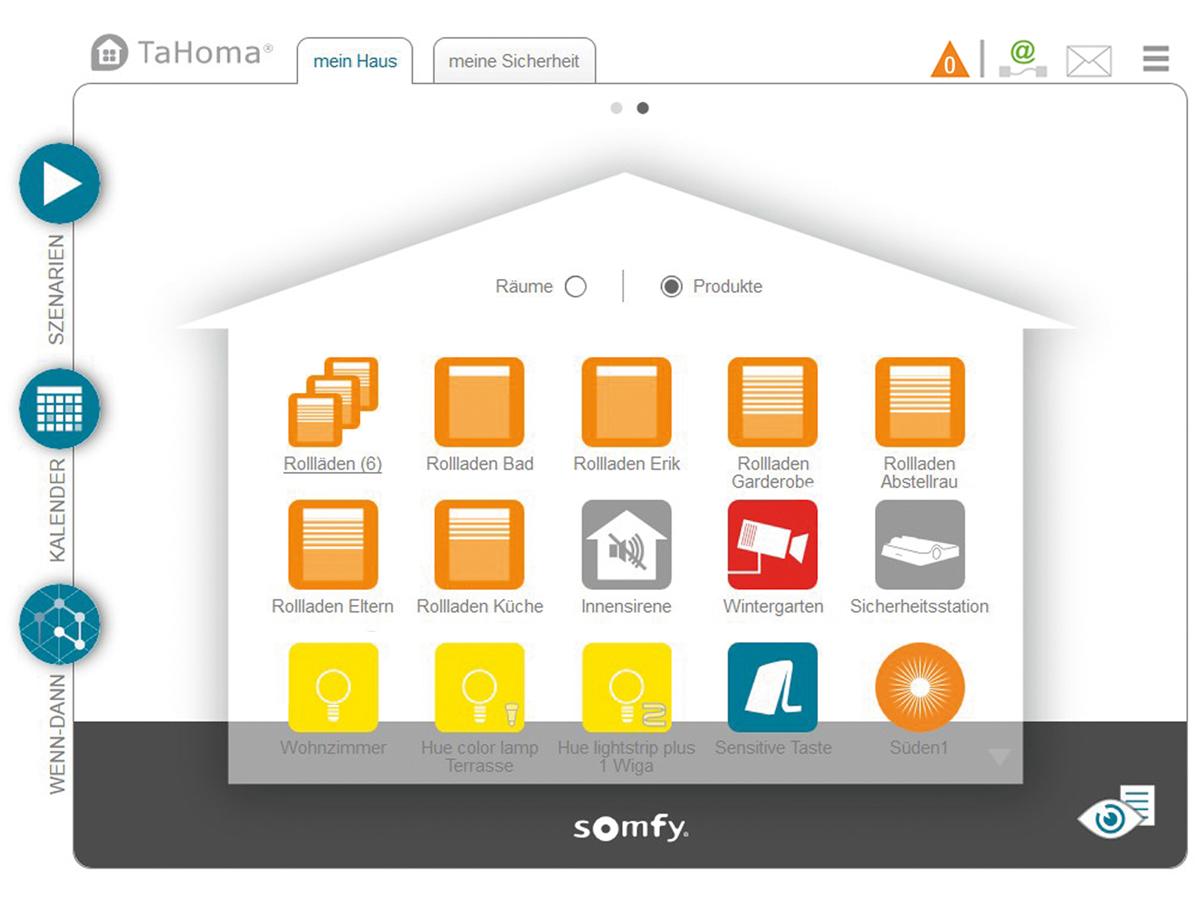 somfy tahoma premium ist ab sofort mit amazon alexa und ifttt kompatibel. Black Bedroom Furniture Sets. Home Design Ideas