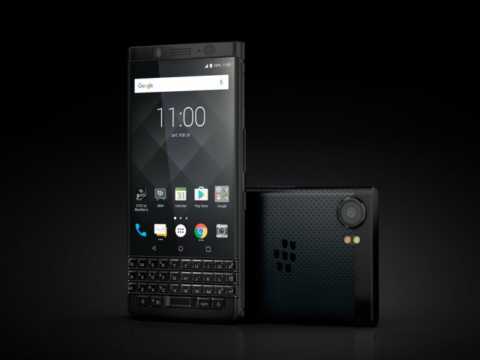 Blackberry KEYone Black Editon (Bild: Blackberry)