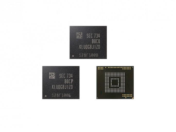 Samsung bringt eUFS-Speicher mit 850 MByte/s (Bild: Samsung).