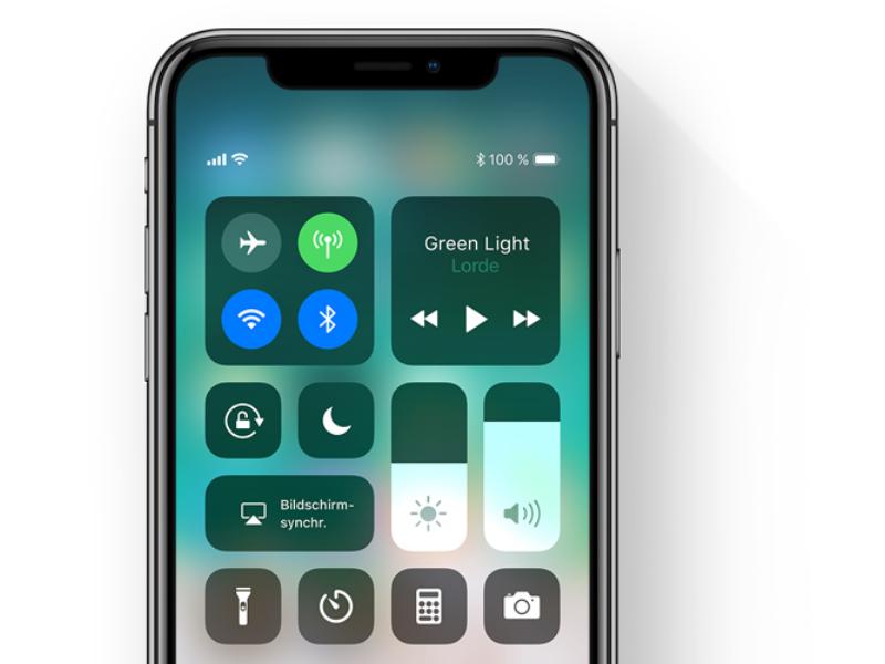 iOS 11: Kontrollzentrum schaltet WLAN nicht ab