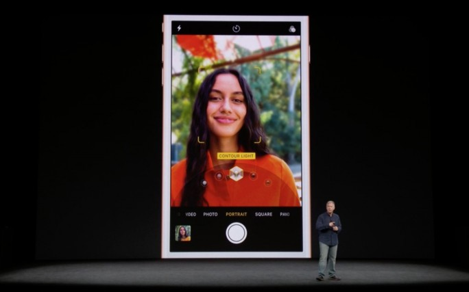 iPhone-8-Kamera: Portrait (Screenshot: ZDNet.de)