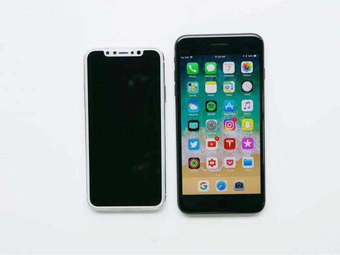 iPhone 8/Pro/X/Edition (Bild: MKBHD)