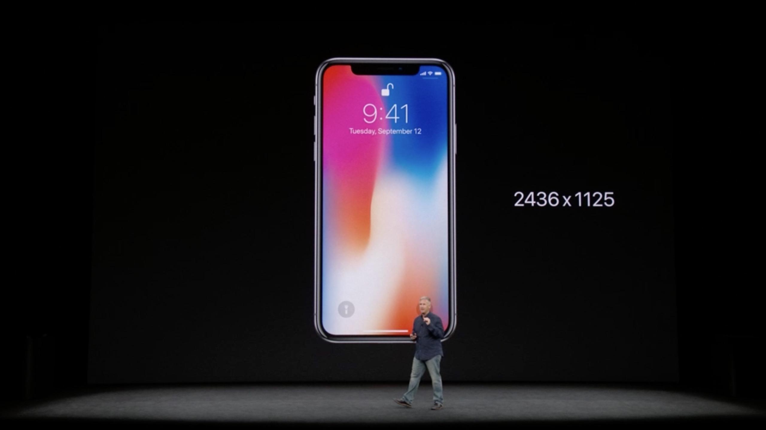 IPhone X Aufloesung Screenshot ZDNetde