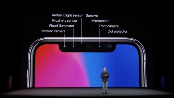 iPhone-X-Sensoren