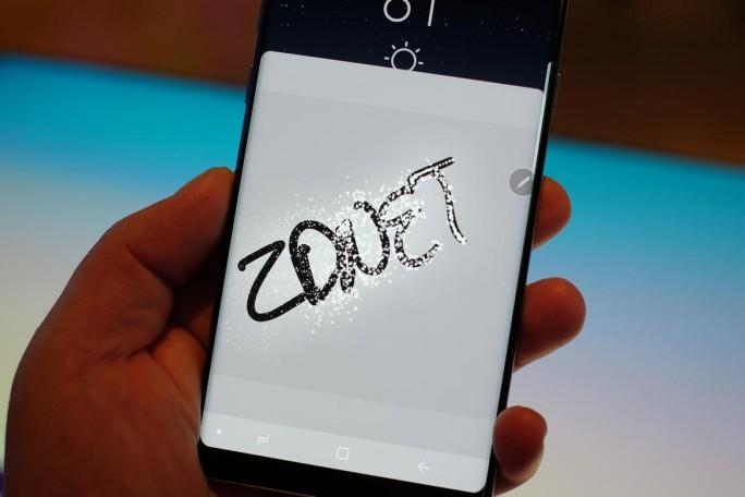 Samsung Note 8 (Bild: Jason Cipriani, ZDNet.com)