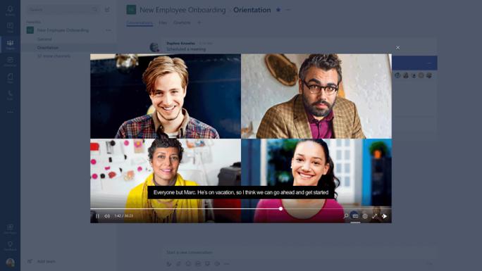 """""""Microsoft Teams steht im Mittelpunkt unserer Vision intelligenter Kommunikation"""" (Bild: Microsoft)"""