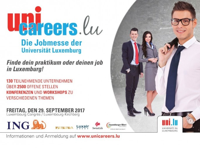 Unicareers.lu: Job-Messe der Universität Luxemburg (Bild: Unicareers)