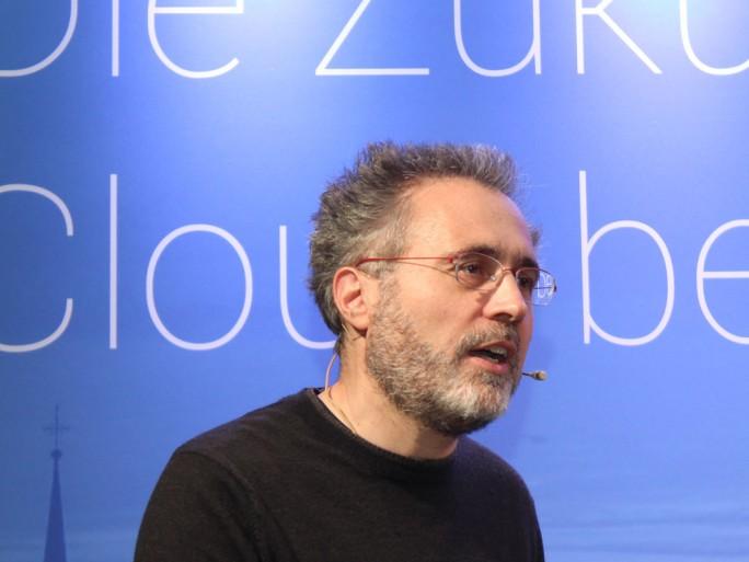 Urs Hölzle, Google (Bild: Martin Schindler)