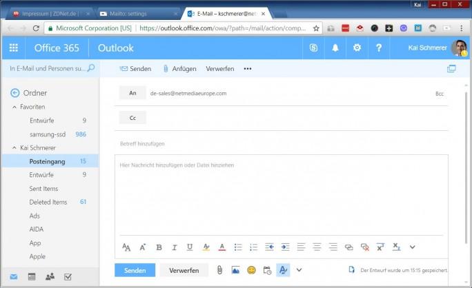 3-Outlook-Office-365-Mailto (ZDNet.de)