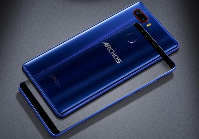 Archos zeigt sein erstes Highend-Smartphone