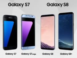 Updaptes für Galaxy S6, S7 und S8 (Bild: Samsung)