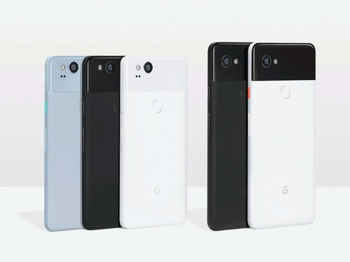 Google Pixel 2 und Google Pixel XL (Bild: Google)