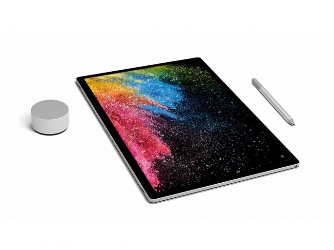 Das Surface Book 2 im Tablet-Modus. (Bild: Microsoft)