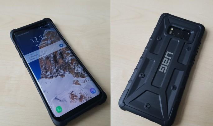 UAG: Robuste Schutzhülle für Galaxy S8 (Bild: ZDNet.de)