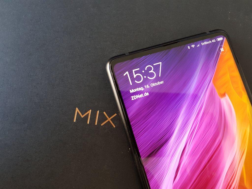Xiaomi Mi MIX 2: Bootloader entsperren und MIUI9 mit deutscher Oberfläche installieren
