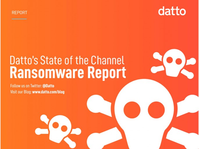 Datto's State of the Channel Ransomware Report (Screenshot: ZDNet.de)